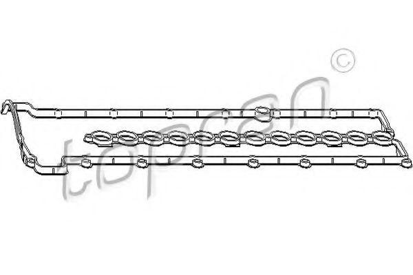 Прокладка клапанной крышки HANS PRIES/TOPRAN 501 254