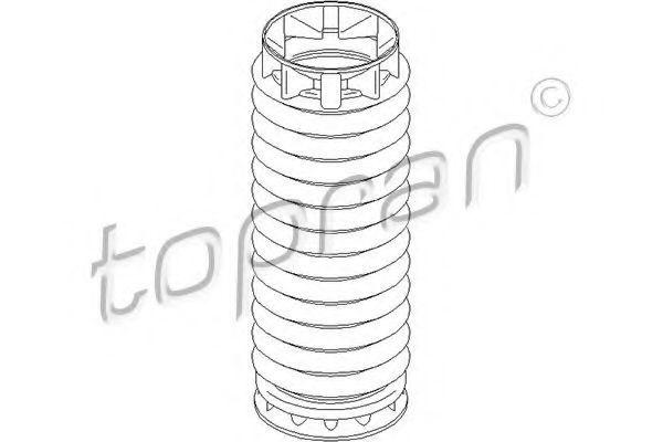 Пыльник амортизатора HANS PRIES/TOPRAN 722 479