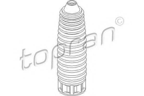 Пыльник амортизатора HANS PRIES/TOPRAN 722480