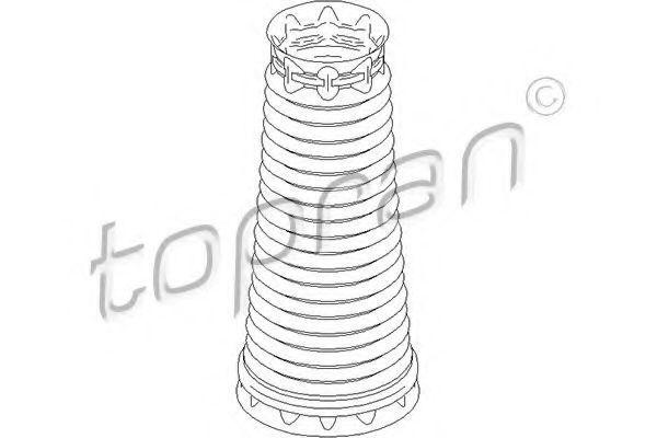 Защитный колпак / пыльник, амортизатор HANS PRIES/TOPRAN 722481