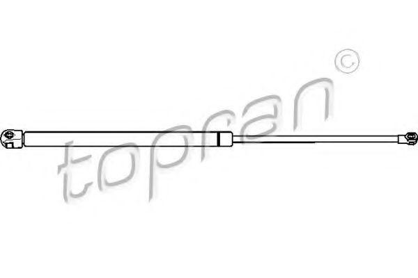 Амортизатор багажника HANS PRIES/TOPRAN 722584