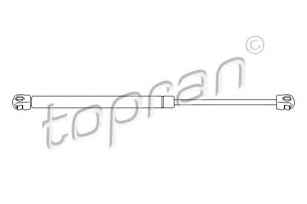 Амортизатор багажника HANS PRIES/TOPRAN 722579
