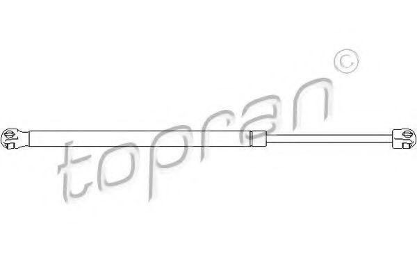 Амортизатор багажника HANS PRIES/TOPRAN 207 739
