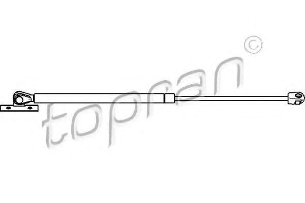 Амортизатор капота HANS PRIES/TOPRAN 207 741