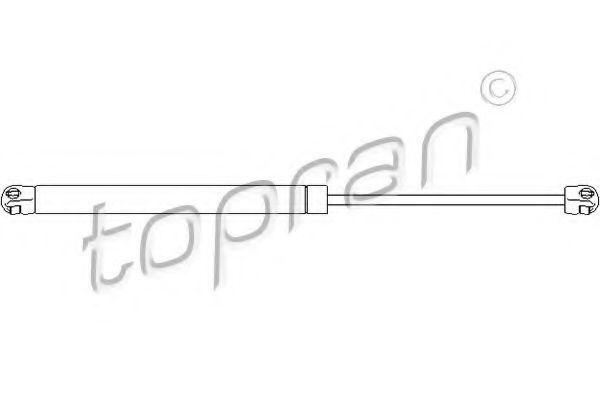 Амортизатор багажника HANS PRIES/TOPRAN 207 737