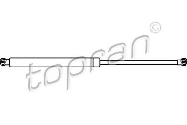 Амортизатор крышки багажника HANS PRIES/TOPRAN 700713