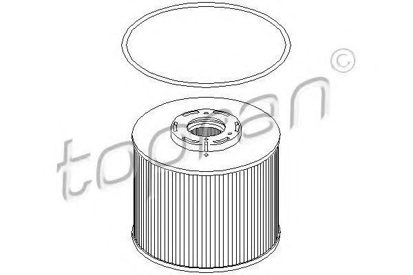 Фильтр топливный HANS PRIES/TOPRAN 304036
