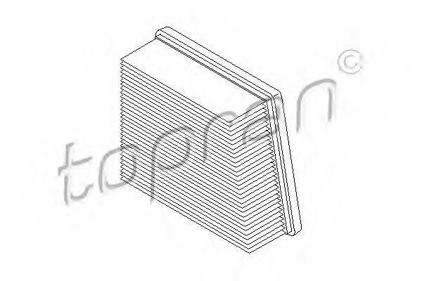 Фильтр воздушный HANS PRIES/TOPRAN 304054
