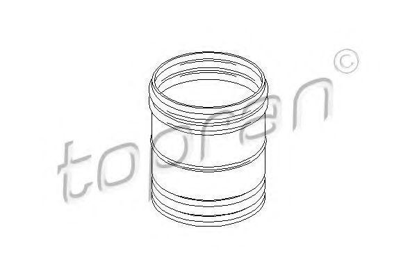 Пыльник амортизатора HANS PRIES/TOPRAN 501 787