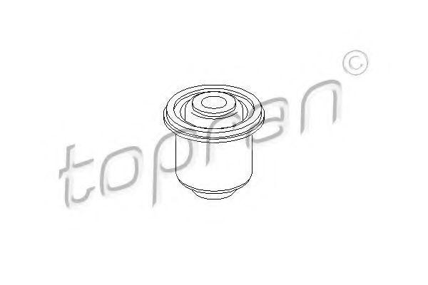 Сайлентблок рычага подвески HANS PRIES/TOPRAN 700 731