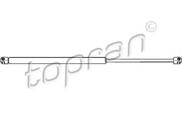 Амортизатор багажника HANS PRIES/TOPRAN 407 965