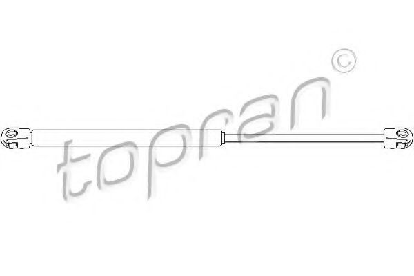 Амортизатор багажника HANS PRIES/TOPRAN 113 534