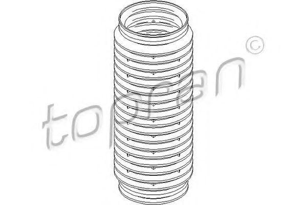 Пыльник амортизатора HANS PRIES/TOPRAN 501 799