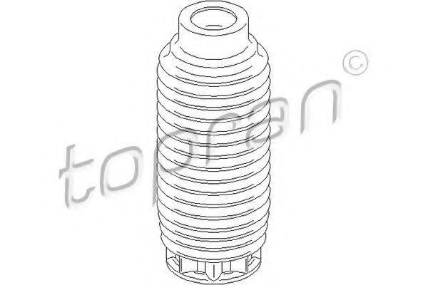 Пыльник амортизатора переднего HANS PRIES/TOPRAN 722788