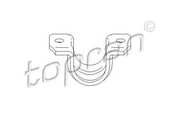 Кронштейн стабилизатора HANS PRIES/TOPRAN 113412