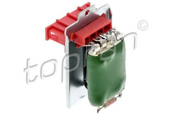 Резистор вентилятора отопителя HANS PRIES/TOPRAN 112 216