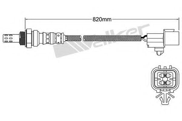 Лямбда-зонд WALSER 25024383