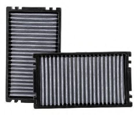 Фильтр, воздух во внутренном пространстве K&N FILTERS VF1000