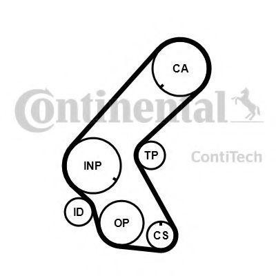 Ремень ГРМ CONTITECH CT1178