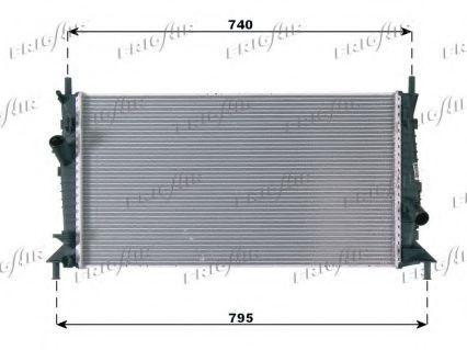 Радиатор охлаждения FRIGAIR 01053084