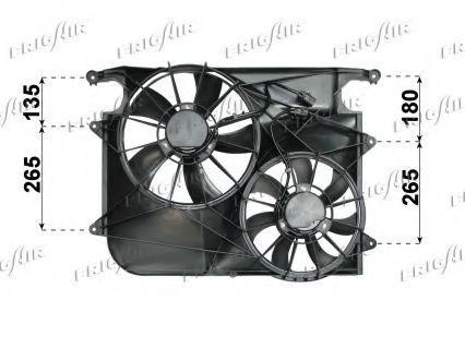 Вентилятор, охлаждение двигателя FRIGAIR 05312011