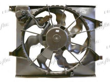 Вентилятор, охлаждение двигателя FRIGAIR 05332012