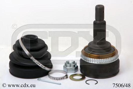 Шарнирный комплект, приводной вал CDX 750648