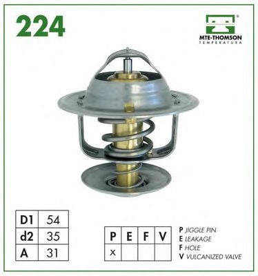 Термостат, охлаждающая жидкость MTE-THOMSON 22482