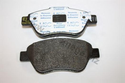 Комплект тормозных колодок, дисковый тормоз AUTOMEGA 1016050359