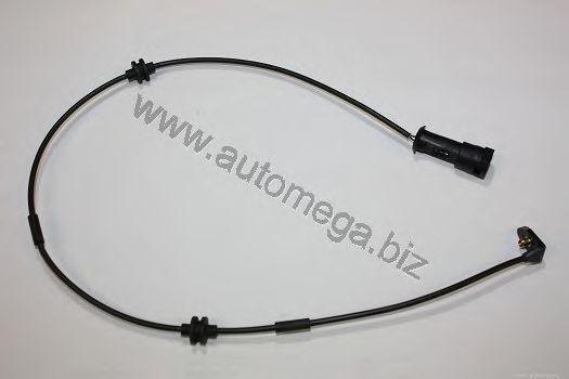 Сигнализатор, износ тормозных колодок AUTOMEGA 1062380322