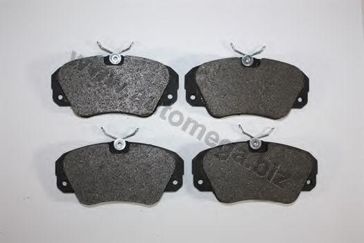 Комплект тормозных колодок, дисковый тормоз AUTOMEGA 1216050033
