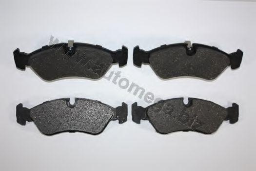 Комплект тормозных колодок, дисковый тормоз AUTOMEGA 1216050454