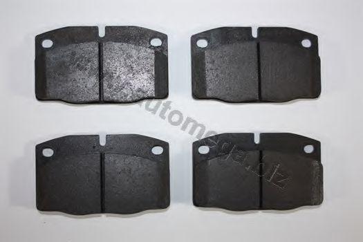 Комплект тормозных колодок, дисковый тормоз AUTOMEGA 1216050870
