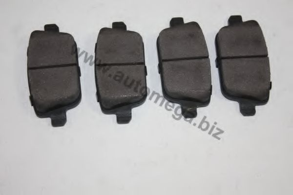 Колодки тормозные AUTOMEGA 30105660234