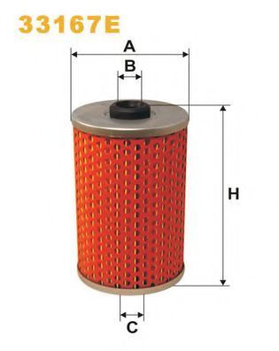 Фильтр топливный WIX 33167E