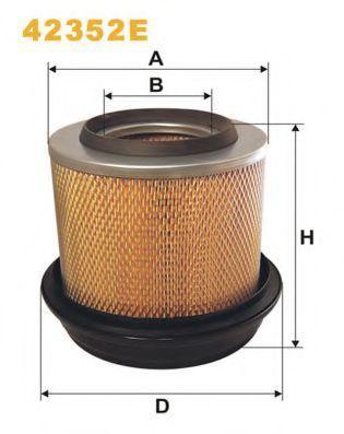 Фильтр воздушный WIX 42352E