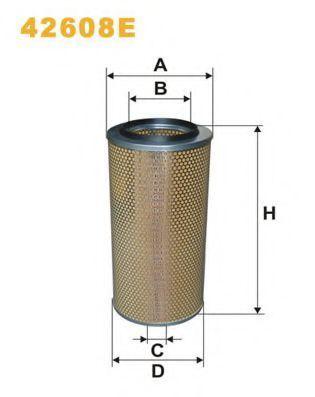 Фильтр воздушный WIX 42608E