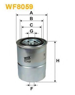 Фильтр топливный WIX WF8059