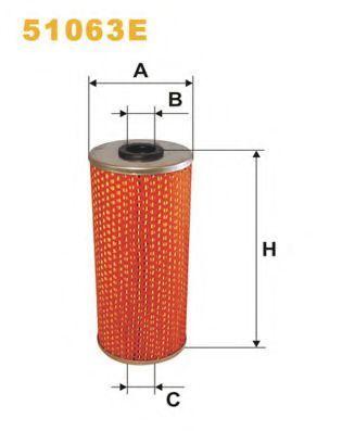 Фильтр масляный WIX 51063E