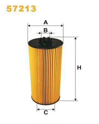 Фильтр масляный WIX 57213