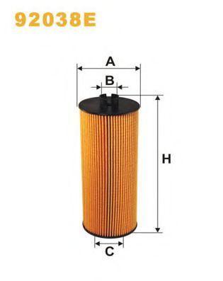 Фильтр масляный WIX 92038E