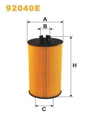 Фильтр масляный WIX 92040E