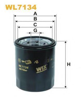Фильтр масляный WIX WL7134
