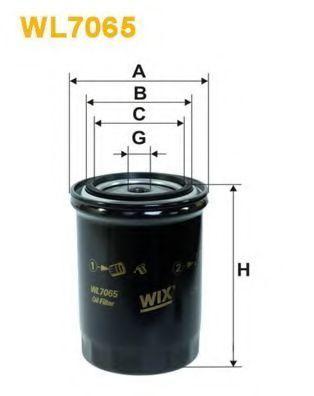 Фильтр масляный WIX WL7065