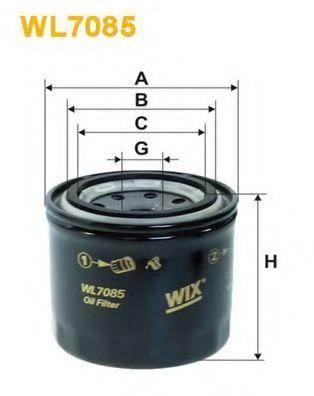 Фильтр масляный WIX WL7085