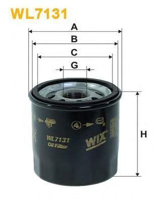 Фильтр масляный WIX WL7131