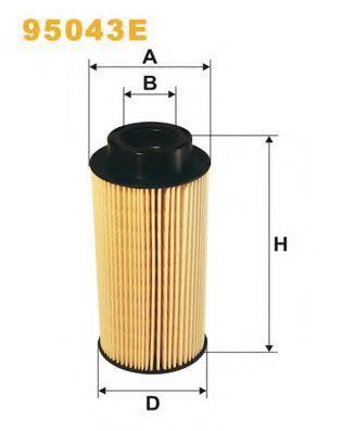Фильтр топливный WIX 95043E
