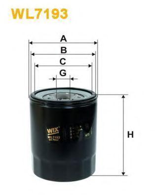 Фильтр масляный WIX WL7193
