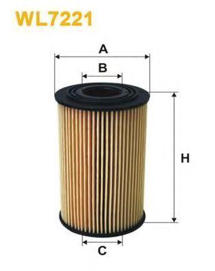 Фильтр масляный WIX WL7221