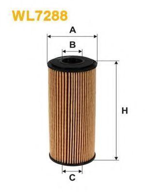 Фильтр масляный WIX WL7288